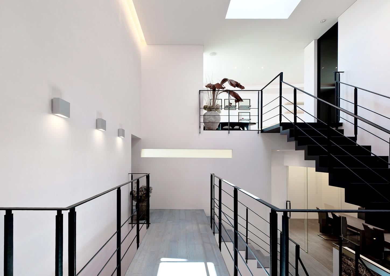 天井高をバランスよくひとつにまとめた空間設計