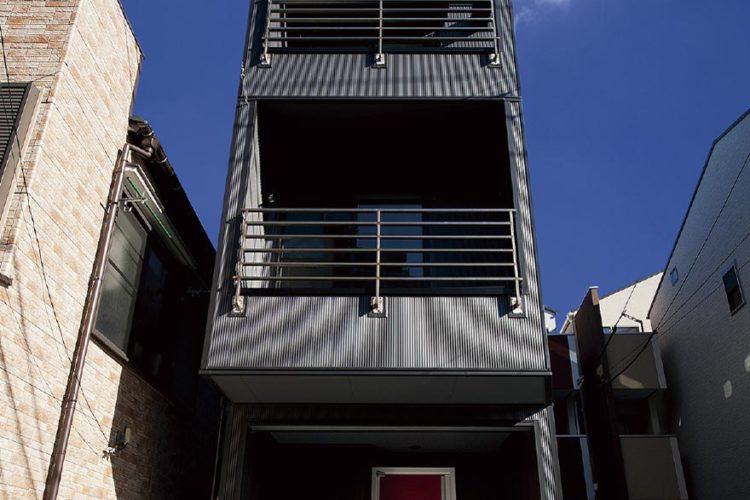 狭小3階の家